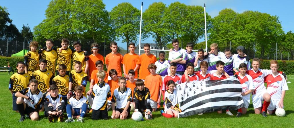 Les équipes Bretonnes lors du tournoi de Guernesey